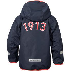 Didriksons 1913 Viskan Jacket Kinder navy